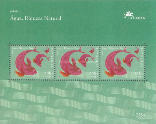 [EUROPA Stamps - Water, Treasure of Nature, type ]