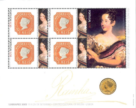 [The 150th Anniversary of Portuguese Stamps, type ]