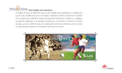 [The 50th Anniversary of UEFA - Past & Present, Typ ]