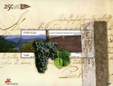 [The 250th Anniversary of the Demarcated Region of the Douro, Typ ]