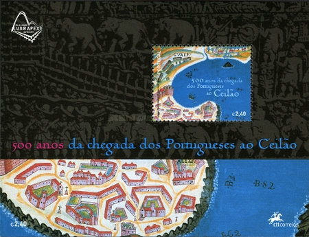 [The 500th Anniversary of the Arrival of the Portuguese in Ceylon, Typ ]