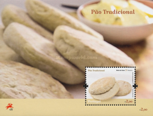 [Traditional Portuguese Bread - Madeira, Typ ]