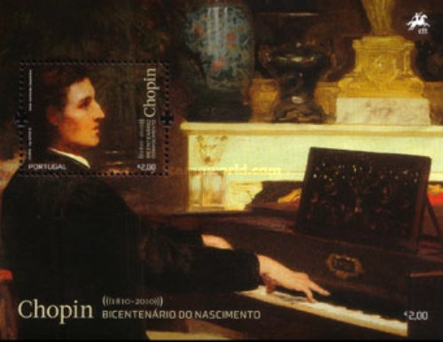 [The 200th Anniversary of the Birth of Frédéric Chopin & Robert Schumann, type ]
