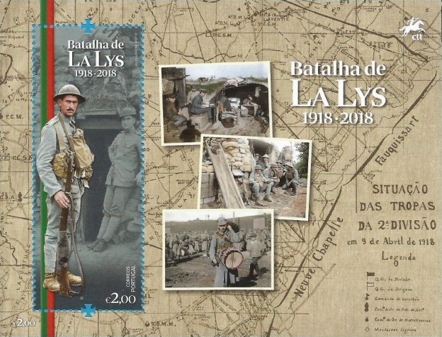 [The 100th Anniversary of the Battle of the Lys, Typ ]