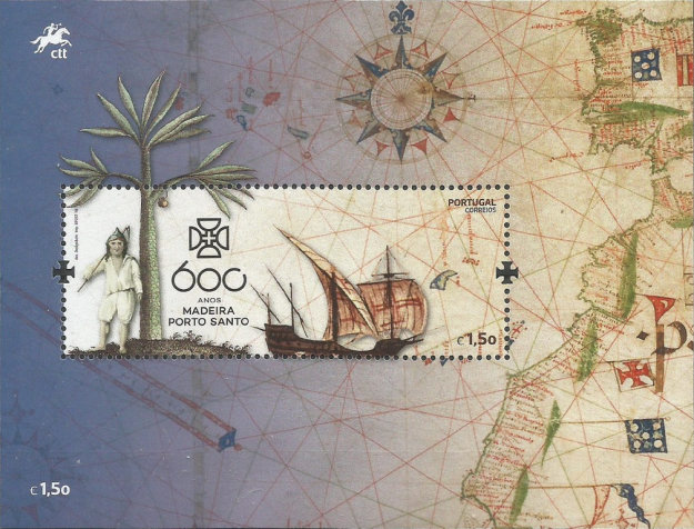 [The 600th Anniversary of the Discovery of Porto Santo, Typ ]