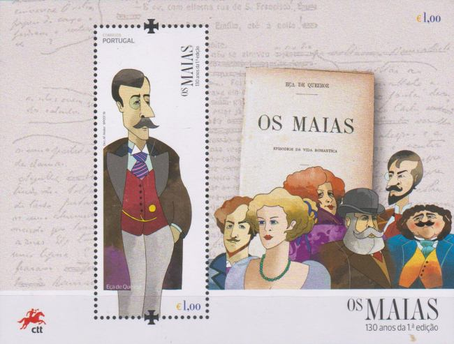 [Books - The 130th Anniversary of Os Maias, Typ ]