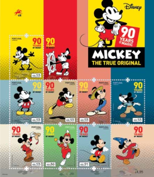 [Comics - The 90th Anniversary of Mickey Mouse, Typ ]