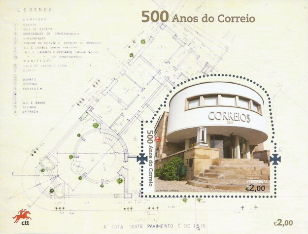 [The 500th Anniversary of Postal Service in Portugal, Typ ]
