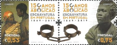 [The 150th Anniversary of the Abolition of Slavery in Portugal, type ]