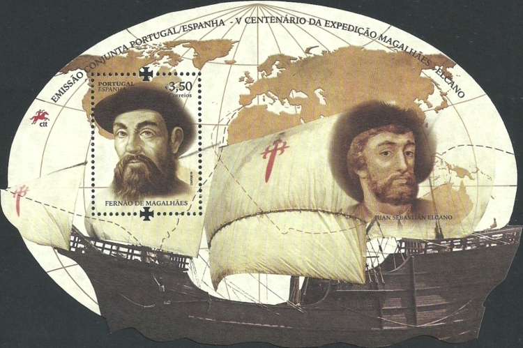 [The 500th Anniversary of the World's First Circumnavigation - Joint Issue with Spain, type ]