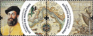 [The 500th Anniversary of the Navigation of the Strait of Magellan, type ]