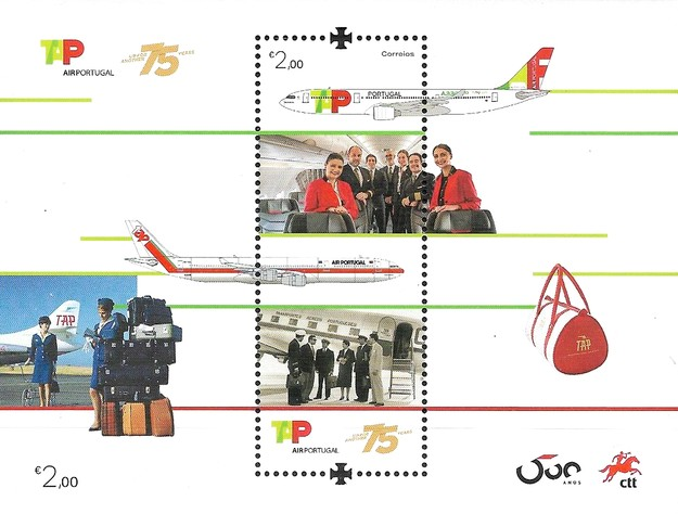 [The 75th Anniversary of TAP - Air Portugal, type ]