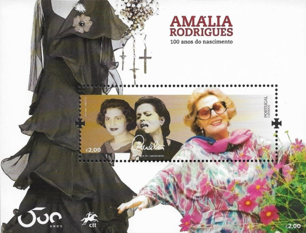 [The 100th Anniversary of the Birth of Amália Rodrigues, 1920-1999, type ]