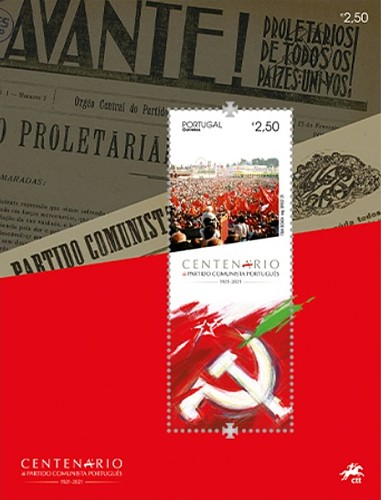 [The 100th Anniversary of the Portuguese Communist Party, type ]