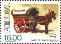 [International Stamp Exhibition BRASILIANA - Horse Carriages, Typ AAA]