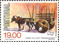 [International Stamp Exhibition BRASILIANA - Horse Carriages, Typ AAB]