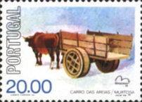 [International Stamp Exhibition BRASILIANA - Horse Carriages, Typ AAC]
