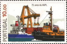 [The 75th Anniversary of the Harbour Administration in Lisbon, Typ AEW]