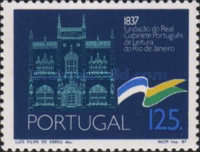 [The 150th Anniversary of the Royal Portuguese Library, Typ AKQ]
