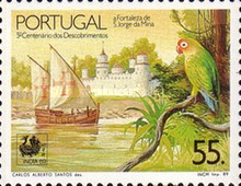 [Stamp Exhibition INDIA '89, New Delhi - Portuguese Discovery Journeys for 500 years, Typ AMF]