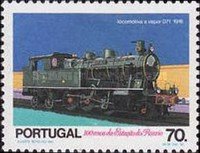 [The 100th Anniversary of the Rossio Railway Station in Lisbon, Typ AOZ]