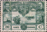 [Airmail - First Flight Between Lisabon-Brasil, Typ BE7]