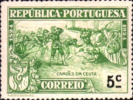 [The 400th Anniversary of the Birth of Luis de Camões I. Poet, Typ BF3]