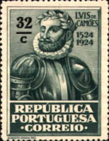 [The 400th Anniversary of the Birth of Luis de Camões I. Poet, Typ BH2]