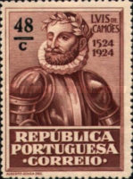 [The 400th Anniversary of the Birth of Luis de Camões I. Poet, Typ BH4]