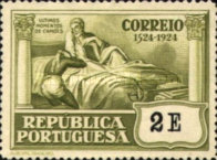 [The 400th Anniversary of the Birth of Luis de Camoes II. Poet, Typ BJ4]