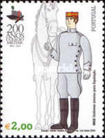 [The 200th Anniversary of the Military Academy - Uniforms, type BTP]
