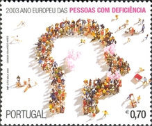 [European Year of People with Disabilities, type BTZ]