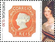 [The 150th Anniversary of Portuguese Postage Stamps, type BUA]