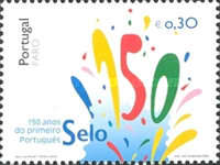 [The 150th Anniversary of the First Portuguese Stamp, type BWR]