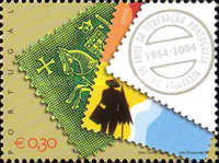 [The 50th Anniversary of the Portuguese Philatelic Federation, Typ CBS]