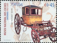 [The 100th Anniversary of the National Coach Museum, type CEP]
