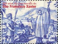 [The 500th Anniversary of the Birth of St. Francis Xavier, Typ CJI]