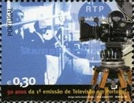 [The 50th Anniversary of the First Television Broadcast in Portugal, Typ CLH]