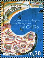 [The 500th Anniversary of the Arrival of the Portuguese in Ceylon, Typ CMC]