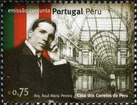 [Joint Issue with Peru - The 150th Anniversary of the Birth of Raul Maria Pereira, Typ CPZ]