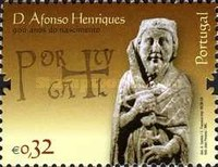 [The 900th Anniversary of the Birth of D. Afonso Henriques, Typ CXZ]