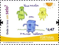 [School Mail - Childrens Drawings, Typ CZQ]