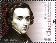 [The 200th Anniversary of the Birth of Frédéric Chopin & Robert Schumann, type DAA]