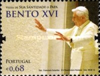 [Pope Benedict XVI Visits Portugal, type DBE]