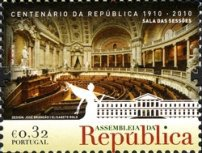 [The 100th Anniversary of the Assembly of the Republic, type DCZ]