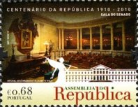 [The 100th Anniversary of the Assembly of the Republic, type DDA]