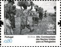 [The 60th Anniversary of the UN High Commissioner for Refugees, type DDX]