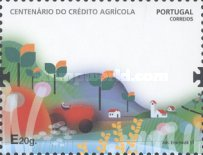 [The 100th Anniversary of Credito Agricola, type DFB]