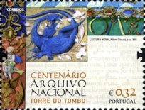 [The 100th Anniversary of the National Archive - Torre do Tombo, type DGR]