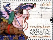 [The 100th Anniversary of the National Archive - Torre do Tombo, type DGS]